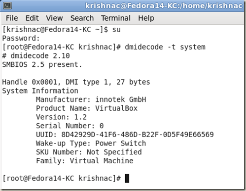 Get System Serial and Model from Command Line | Krishna Chaitanya Ch